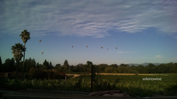 hot air balloons napa